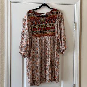 🧡NEW🧡 UMGEE size Large MIDIE DRESS
